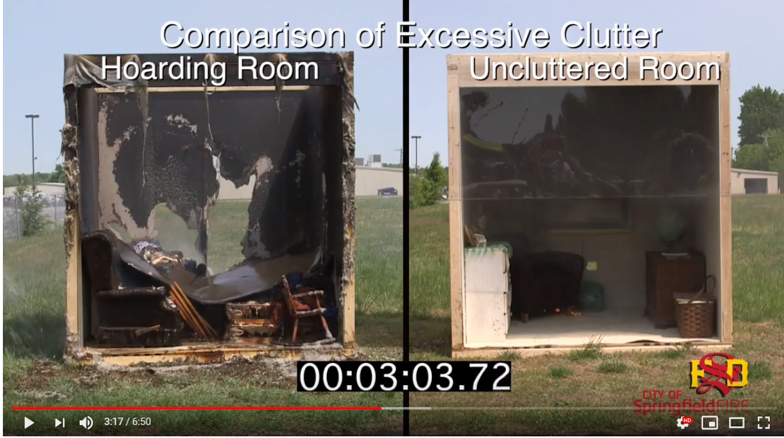Clutter fire - video pic